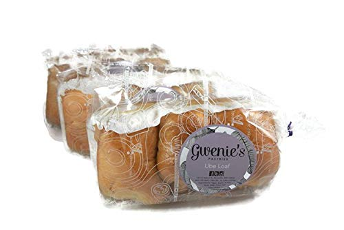 Gwenie's Pastries Ube Loaf (3 Pack) Consume within 5 days or refrigerate