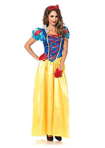 Leg Avenue Classic Snow White Plus Size Dress Costume,Multi,3X / 4X