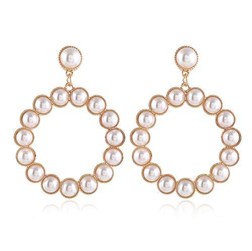 NA Earrings for Women Statement Earrings Large Circle Earrings, Hollow Geometric Round Earrings Womens Jewelry