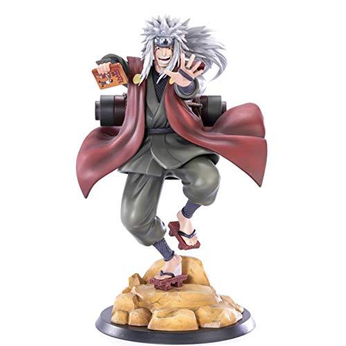 HHAA Figuras Anime Anime Figrue Jiraiya Gama Sennin PVC Figura De Acción Estatua Juguete Coleccionable Decoración De Escritorio Figma Muñeca 20Cm
