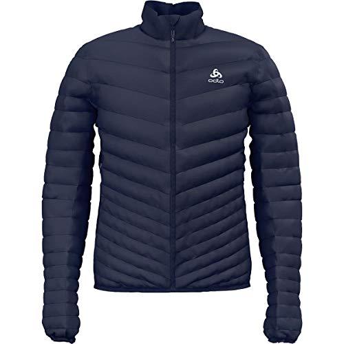 Odlo Herren Jacket Insulated NEON Cocoon Jacke, Diving Navy, XXL