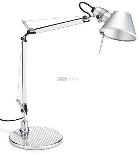Artemide Tolomeo Micro-Tischleuchte LED E14; 9,6 W LED A Aluminium-Tischleuchte