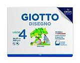 Giotto Album Disegno 4, A4, Carta Liscia, 583500