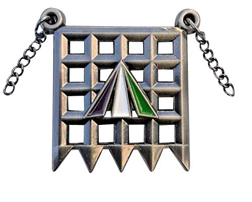 The Portcullis: The WSPU Holloway Suffragette Badge / Brooch