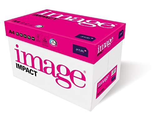 Image Impact - Kopierpapier 60g/m² A4 FSC mix credit - 5 Pakete zu 500 Blatt