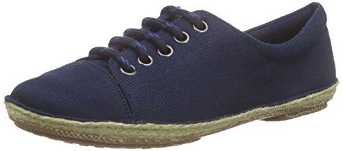 Clarks Clovelly Cool, Damen Espadrilles, Blau (Navy Canvas), 35.5 EU (3 Damen UK)