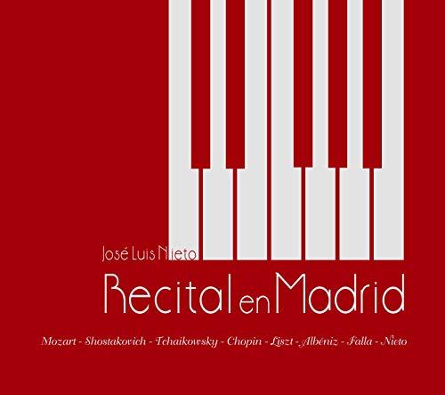 Recital en Madrid CD   José Luis Nieto piano