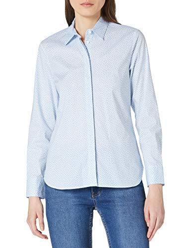 BRAX Damen Style Victoria Bluse, COOL Blue, 38