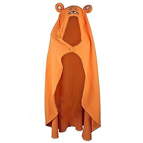 Himoto/Himouto Umaru-Chan Cape Cosplay Kostüm Outfit Flanell Hoodie Decke Quilt Coat Cape 157,5 cm Orange
