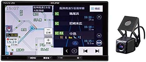 デンソーテン カーナビ ECLIPSE Dシリーズ AVN-D10 7型 ドライブレコーダー内蔵 トヨタマップマスター地図搭載 無料地図更新/フルセグ/Bluetooth/Wi-Fi/DVD/CD/SD/USB/VICS...