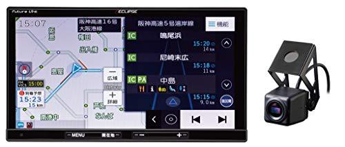 デンソーテン イクリプス(ECLIPSE) ドライブレコーダー内蔵カーナビ 録ナビ AVN-D10 7型 地図無料更新 フルセグ+1セグ/VICS WIDE/SD/CD/DVD/USB/Bluetooth/Wi-Fi トヨタマップマスター地図搭載 DENSO-TEN