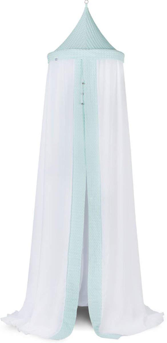 Jollein Mosquito Net, 205 cm, Voile Waffle Jade