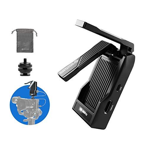 HOLLYLAND Mars X, Video Transmitter HDMI 1080P Wireless Image Transmission drahtlose Bildübertragung, 92m Arbeitsabstand, 0.07 Latenz, APP-Überwachung, OLED-Display für DSLR Kamera