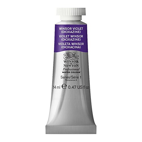 Winsor & Newton Professional Water Colour Paint, 14ml tube, Winsor Violet (Dioxazine)