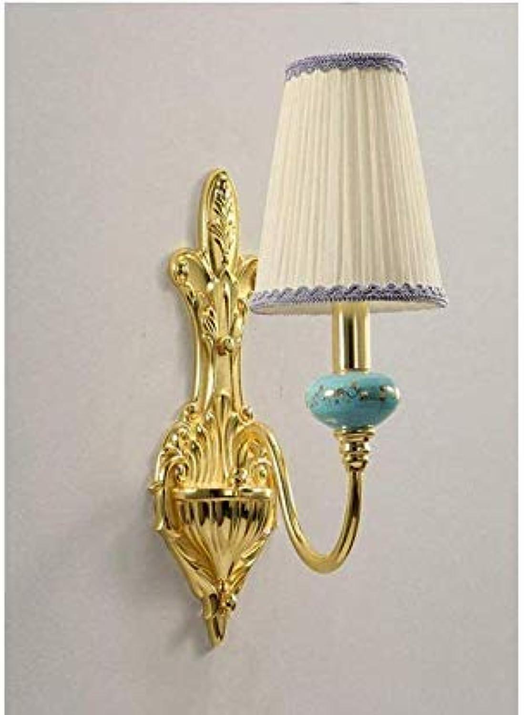 Kronleuchter Lightceiling Lampwall Lampe Blaue Nachttischlampen Europischen Gang Lichter TV Schrank Wandleuchte Schlafzimmer