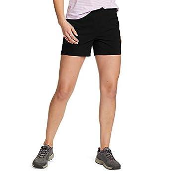 Eddie Bauer Women s ClimaTrail Shorts Black Regular 12