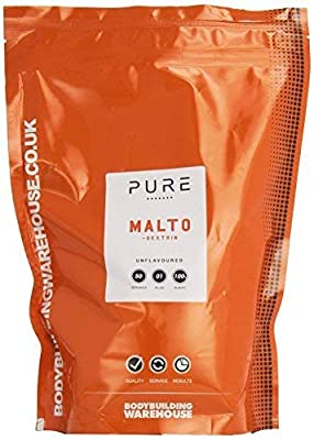 Bodybuilding Warehouse Pure Maltodextrin Carbohydrate Powder / Unflavoured from Bodybuilding Warehouse