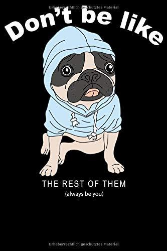 Hundeliebhaber Hunde Notizbuch Din A5 Blanko 120 Seiten Mops Gassi Hund Hundeliebhaber Herrchen Hundefreund Tierfreund Geschenkidee Weihnachten