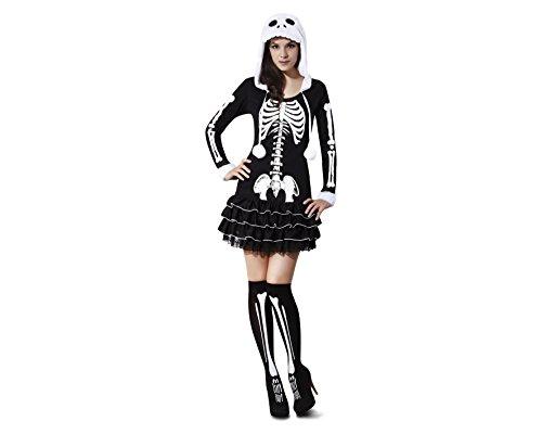 Desconocido My Other Me - Disfraz de esqueleto descarada, para adultos, talla M-L (Viving Costumes MOM02272)