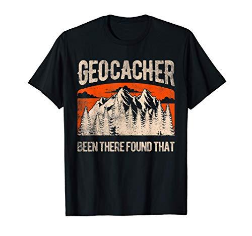 Geocaching Hombres Mujeres Jóvenes Regalos de Geocacher Camiseta