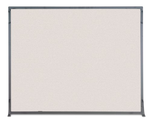 NAPA FORGE Pilgrim Home and Hearth 19256 Flat Panel Fireplace Screen, 39 W x 31H, 19 lb, Black