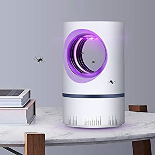 yqs Lámpara de Mosquito 5w USB Eléctrico Mosquito Killer Ultravioleta Night Light Anti Mosquito Repeller Light Fly Pest Trap Lamp Zapper Pest Killer