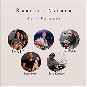 Roberth Nygren with friends