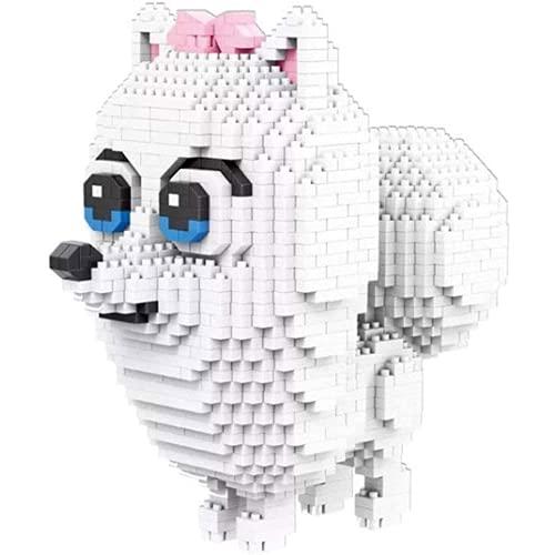 Portonss Hundeblock Diamant Miniatur Kleine Partikel Mini Puzzle Ziegel Spielzeug Modell Hund Kind Geschenk