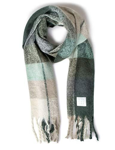 Street One Damen 571254 Mode-Schal, midnight green, One Size