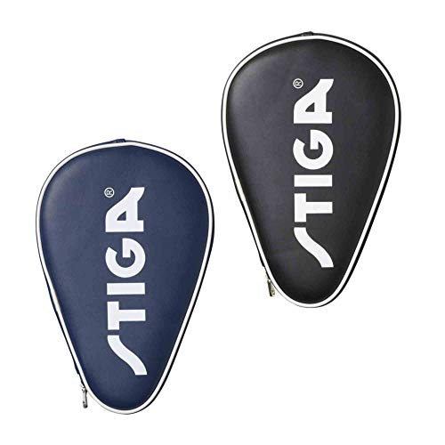 Find Bargain STIGA Batcover Classic Table Tennis Racket Case… (Black/White)