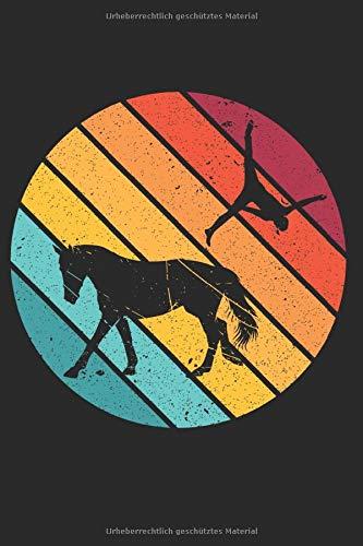 Notizbuch: Voltigieren Volti Notizheft A5 liniert I Pferdesport Tagebuch I Trainingstagebuch Reiten I Journal für Voltigierer mit Pferd I Geschenk für Reiter