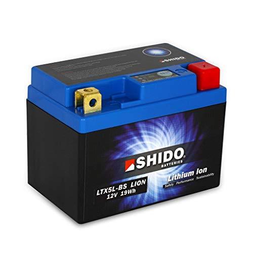 günstig Batterie 12V 1.6AH (4AH) YTX5L-BS Li-Ionen Shido 50412 350 Freeride 4T 2012-2017 kompatibel Vergleich im Deutschland