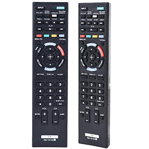 Universal TV Remote Control for Sony Smart Bravia HDTV LCD LED 3D TV RM-YD103 RM-YD102