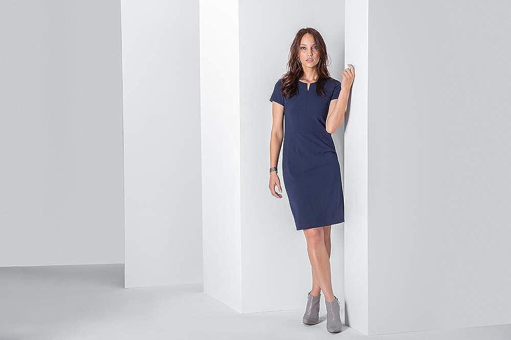GREIFF Damen Etui-Kleid Corporate WEAR Premium 1068 Regular Fit Royalblau
