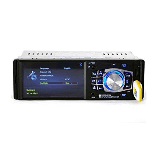 Radio Automotivo Central Multimidia 1 din 4.1 polegadas HD 4 x 60w SD BLUETOOTH USB AUX. 12V 4012B LM ELETRONICS