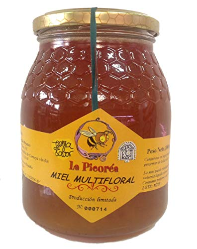 La picoréa Pure flores honingpot van klein Imker uit Spanje | Artisana honing vloeibaar 500 gram