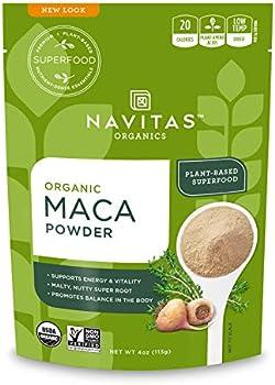 Navitas Organics Gluten-Free Maca Powder 4 Oz Bag