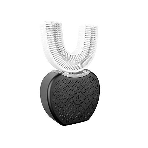 Elektrische Zahnbürste Ultraschall Hibrush Zahnbürste Original Vollautomatische Frequenzvariable 360 ° Elektrische Zahnbürste - Zahnaufhellung Induktive Aufladung Elektrische Silikon-Zahnbürste