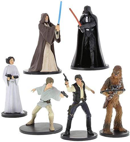 Disney Parks Exclusive - Figuras de decoración para tartas - Star Wars Episodio IV: Nueva Esperanza