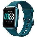 YAMAY Smartwatch Orologio Fitness Donna Uomo Smart Watch Android iOS Contapassi Cardiofrequenzimetro da Polso Orologio Sportivo Bluetooth Touch Conta Calorie Activity Tracker IP68 con Cronometri
