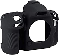 Shumo Silicone Rubber Camera Housing Case for D500 Detachable Anti Scratch Shockproof Full Body Protective Rubber Cover
