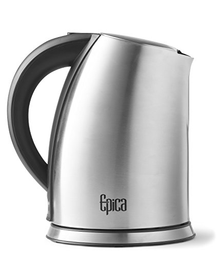 Top Rated EPICA 1.75 Quart Cordless Electric Stainless Steel Kettle ...