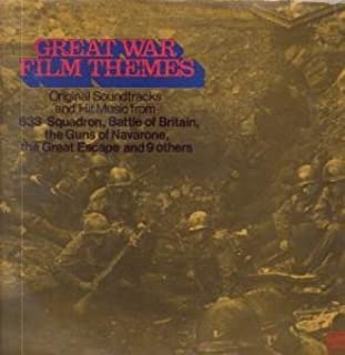 VARIOUS LP UK UNITED ARTISTS 1968 13 TRACK SOUNDTRACK AND MUSIC FROM 633 SQUADRON,BATTLE OF BRITAIN,THE GUNS OF NAVARONE ETC,THE GREAT ESCAPE (UAS29074)