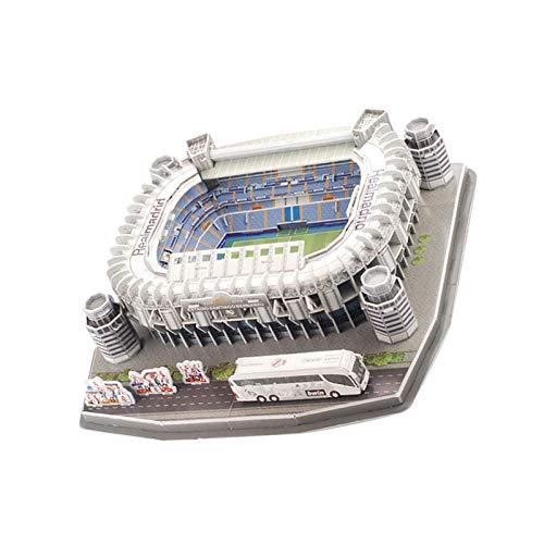 3D Puzzle Fußballstadion Modell, 3D Fußball Puzzle Barcelona Camp NOU Stadion Modellbausatz für Kinder Erwachsene