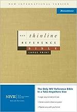 NIV Thinline Reference Bible, Large Print