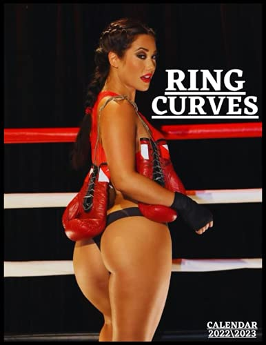 RING CURVES CALENDAR 2022'3: sexy models monthly calendar 2022 18 months size 8.5x11 inch high quality images gift for everyone .
