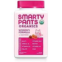 180-Count SmartyPants Daily Organic Gummy Women's Multivitamin