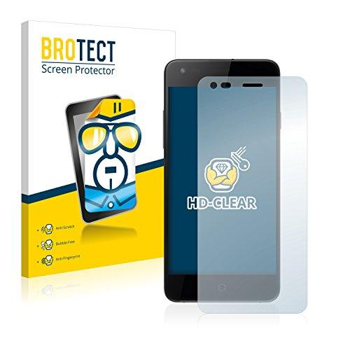 BROTECT Schutzfolie kompatibel mit Siswoo i8 Panther (2 Stück) klare Bildschirmschutz-Folie
