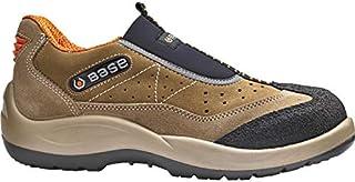Base BO451 Arena S1P zapatos antideslizantes de titanio para hombre
