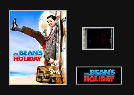Genuine Mr Bean S Holiday 2007 35mm Mounted Movie Film Cell Amazon Co Uk Kitchen Home